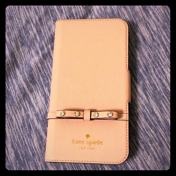 official photos 3321e be6e1 Kate Spade iPhone X Wallet Case NWT